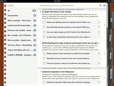ItunesU screenshot